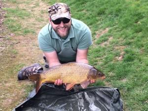 Luke Jennings and fish