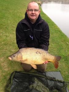 Gareth with carp