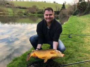 Julian with common carp